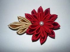 Manualidades y accesorios la hormiga. como hacer una flor japonesa. video No.053 - YouTube