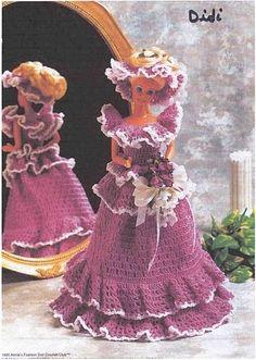 free pattern http://make-handmade.com/2011/07/03/gift-presents-for-kids-barbie-fashion/