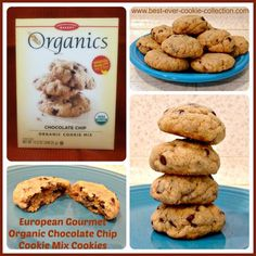European Gourmet Chocolate Chip Organic Cookie Mix Review | www.best-ever-cookie-collection.com