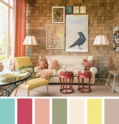 ............... color palettes, living rooms, living room colors, color combos, the crow, color pallets, color combinations, colour palettes, room color schemes