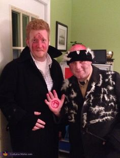 The Wet Bandits from Home Alone - Creative Halloween Costume Idea!