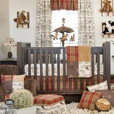 western baby bedding | Baby Boy Cowboy Horse Pony Western Quilt Babies Crib Nursery Newborn ...