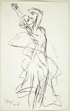 John Singer Sargent jean baptist, oil paintings, figure drawings, art museum, line art drawings, gesture drawing, john singer sargent drawings, beauti gestur, artist