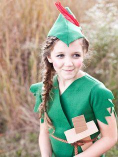 How to make a cute Peter Pan costume