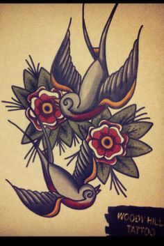 swallow tattoos | Tumblr