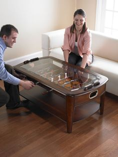 Foosball Coffee Table - Unique Gifts Ideas