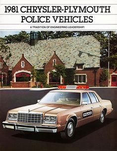 1981 Plymouth Gran Fury Pursuit Police Car