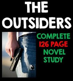 the outsiders book study guide