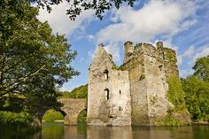 The beautiful Castle right on the bridge at Carrigadrohid in Co. Cork Ireland