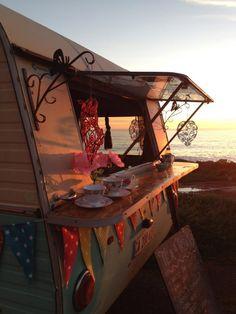 Tea Time Vintage Camper Trailer  |  http://www.ladybonin.com/gallery-test/?show=gallery