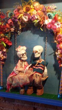 Frida  Diego @ Mattie Rhodes Day of the Dead Celebration 10/5/13