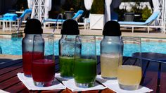 New #Natural #Juice blends and smoothies offered at The Roof Garden. #healthy #green #antioxidant