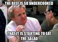 Love chef Ramsey