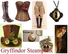 harri potter, steampunk fascin, steampunk fanci, potter nerdett, steam punk, steampunk gryffindor