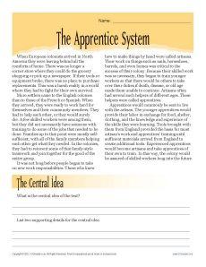 6th Grade Reading Comp Worksheets, PDF files