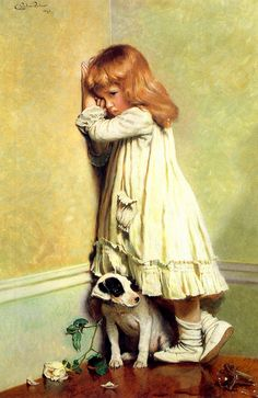 Charles Burton Barber. I have this and I love it.
