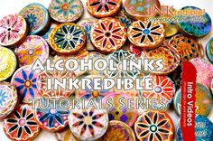PROMO INTRO PolyPediaOnline TV -  INKredible Polymer | Alcohol Inks Poly...