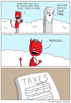taxes are from the d