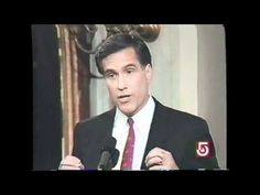 Mitt Romney on Abortion throughout the Years (720p HD)