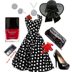 I like this one. The heels would be wicked by the fifth race, though. Kentucky Derby, created by tx-redhead on Polyvore