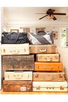 Vintage luggage.
