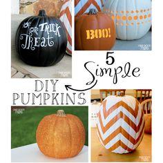 chevron patterns, chevron pumpkin, fall yall, pumpkins, holiday idea, crafti pumpkin, diy pumpkin, halloween ideas, foam pumpkin
