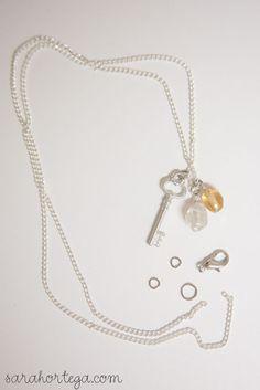 diy birthstone necklaces