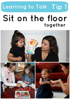Sit on the Floor together - Pinned by @PediaStaff – Please Visit  ht.ly/63sNt for all our pediatric therapy pins