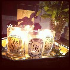 Diptyque candles