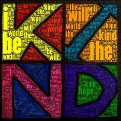 "Students use the app WordFoto to create their ""wish or the world"". (iLesson from Engage Their Minds blog)"