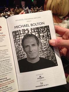 Michael Bolton now....