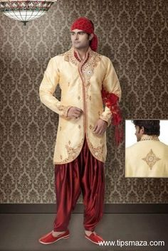 Groom Sherwani Design