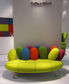 Crazy sofa from Adrenalina
