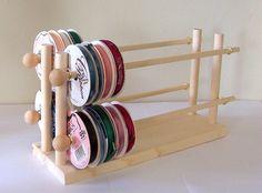 Ribbon Holder Storage Rack Organizer Holds by DeesNecklaceHolders, $24.98