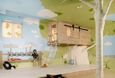child room, kid bedrooms, tree forts, tree houses, kid rooms, boy rooms, little boys rooms, indoor trees, bedroom designs