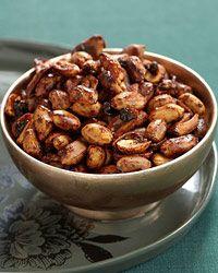 Maple-Glazed Peanuts