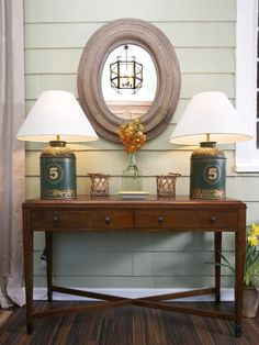 Rustic Entryway - A well-decorated foyer welcomes guests to your home and gives a small taste of your style.
