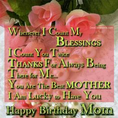 Birthday Poems for Mom From Daughter | Birthday Wishes for Mother Pictures, Comments for Orkut, Myspace