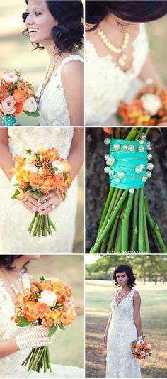 Shabby Chic Bride / via Style Unveiled