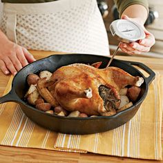 How to Roast a Chicken | MyRecipes.com #MyPlate #protein