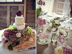Magical Vintage Carousel DIY Barn Wedding - Bridal Musings Wedding Blog