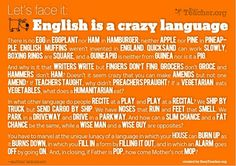 English is a crazy language!