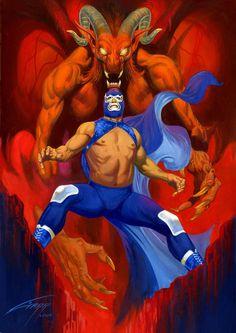 rafael gallur, lucha monstruo, somo mexicano, lucha libr
