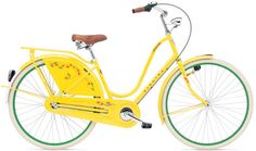 Electra tulip bike.  I want to add a basket to this