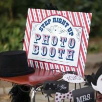 Step Up to the Photo Booth Sign