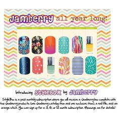 """""""Jamberry StyleBox"""" www.mallorycr.jamberrynails.net for more info!"""