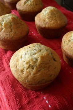 Cooking to Perfection: Lemon Poppy Seed Muffins