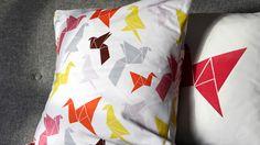 Origami pillow — Dottir & Sonur