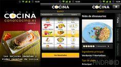 Nueva versión de Canal Cocina para Android en la tienda de Amazon.es