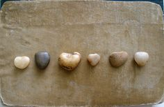 My son used to bring me heart shaped rocks from the playground when he was in kindergarten. www.hollyabston.com